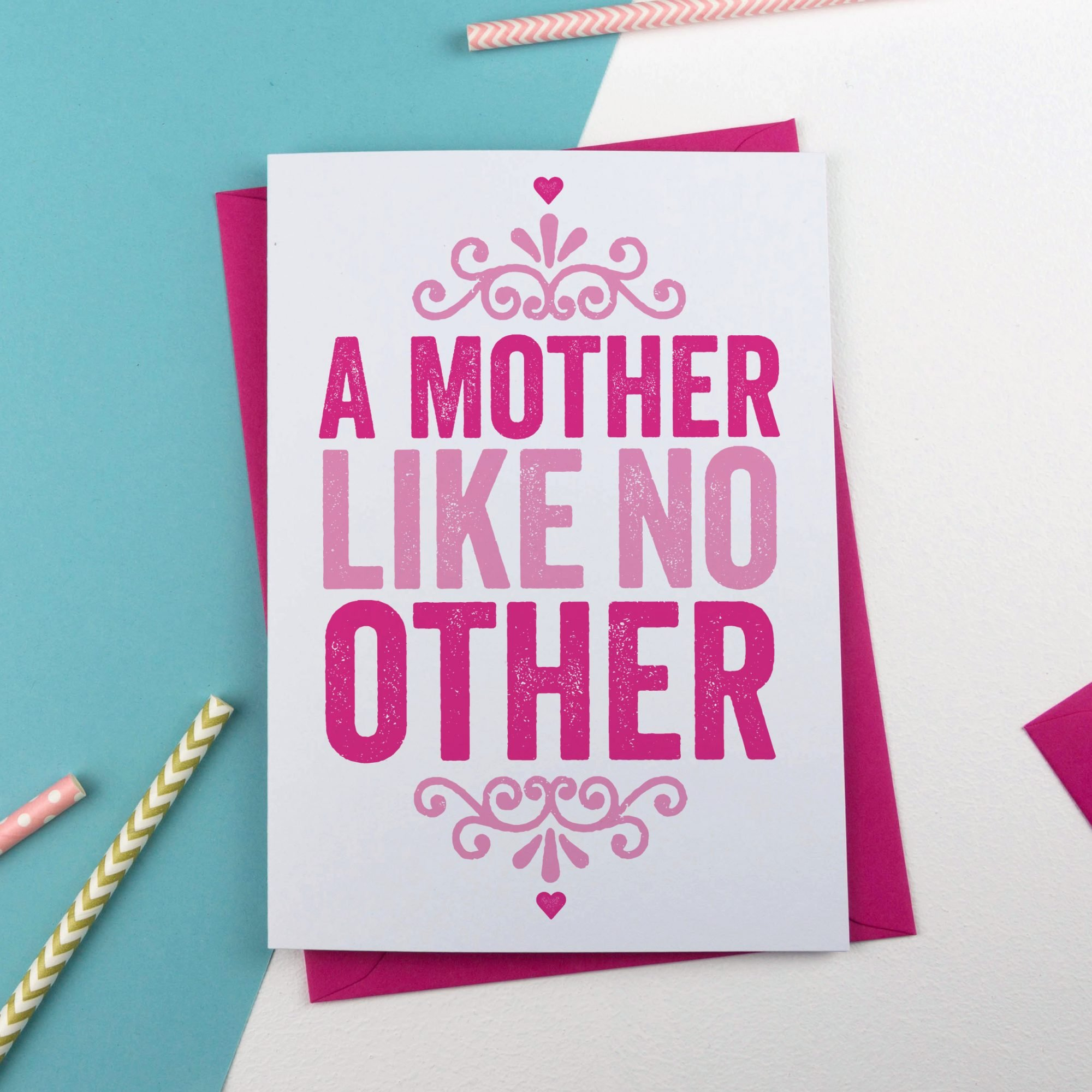 A mother like no other mothers day card