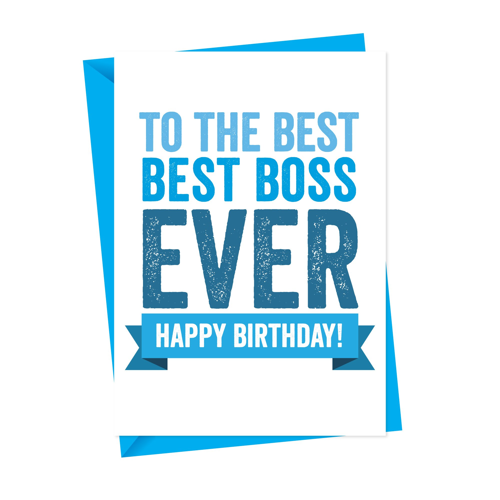 best boss birthday card