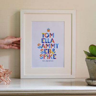 Ponche-Family-Names-Print--house-whilte-frame