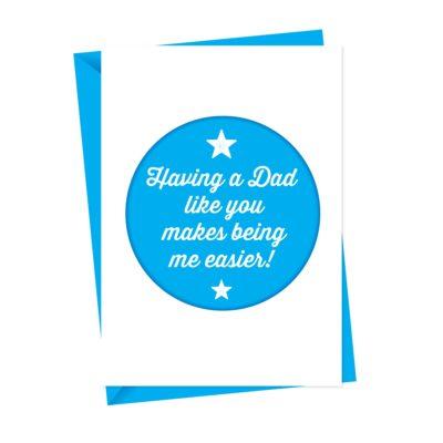 Having A Dad Like You Card