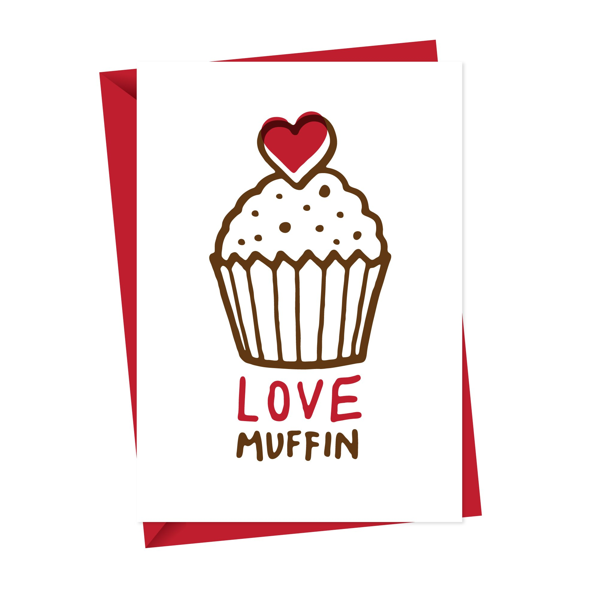 Love Muffin Card