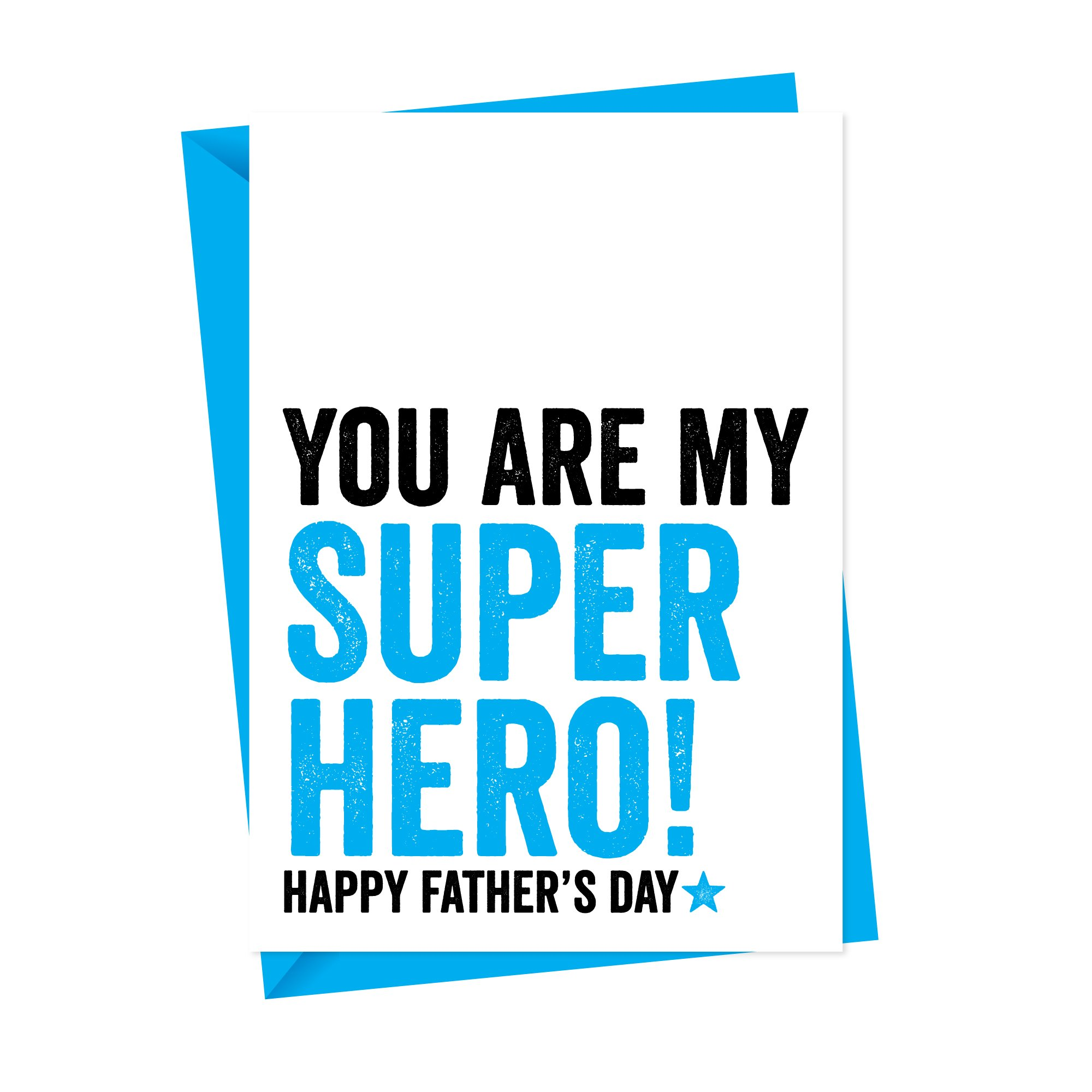 My Superhero Fathers Day Card