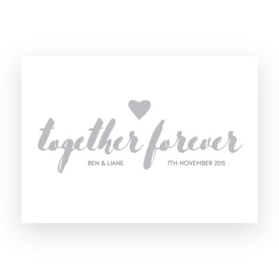 Together-Forever---Text-print