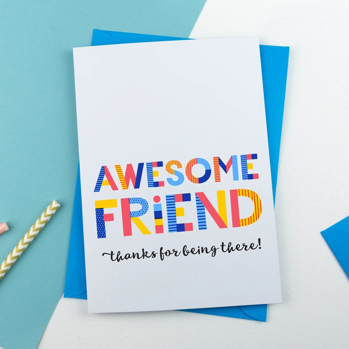 awesome friend card