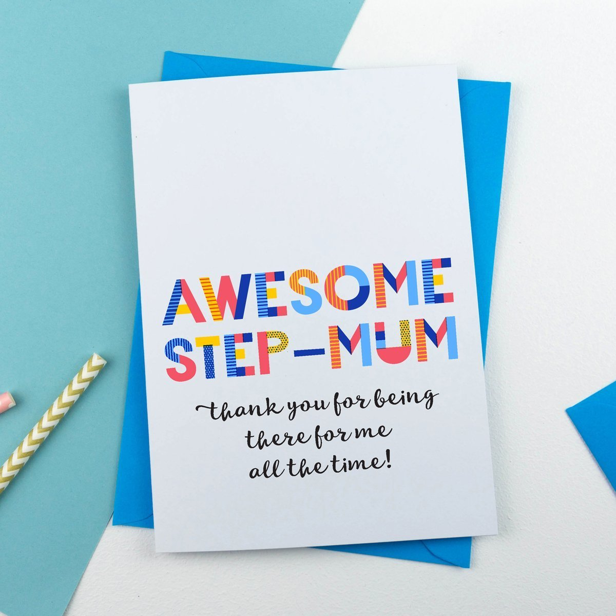 awesome step mum card