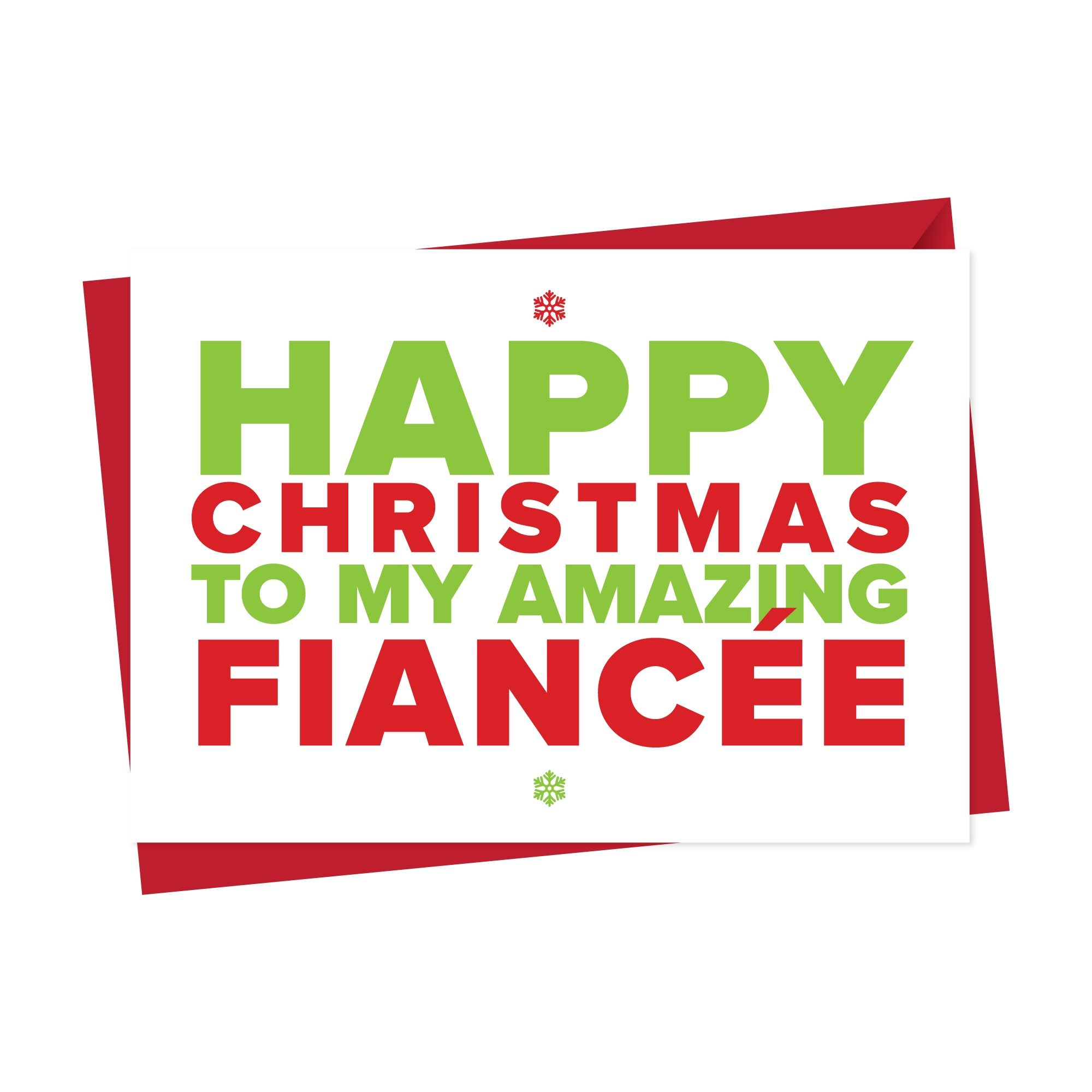 Christmas Card for An Amazing Fiance OR Fiancee