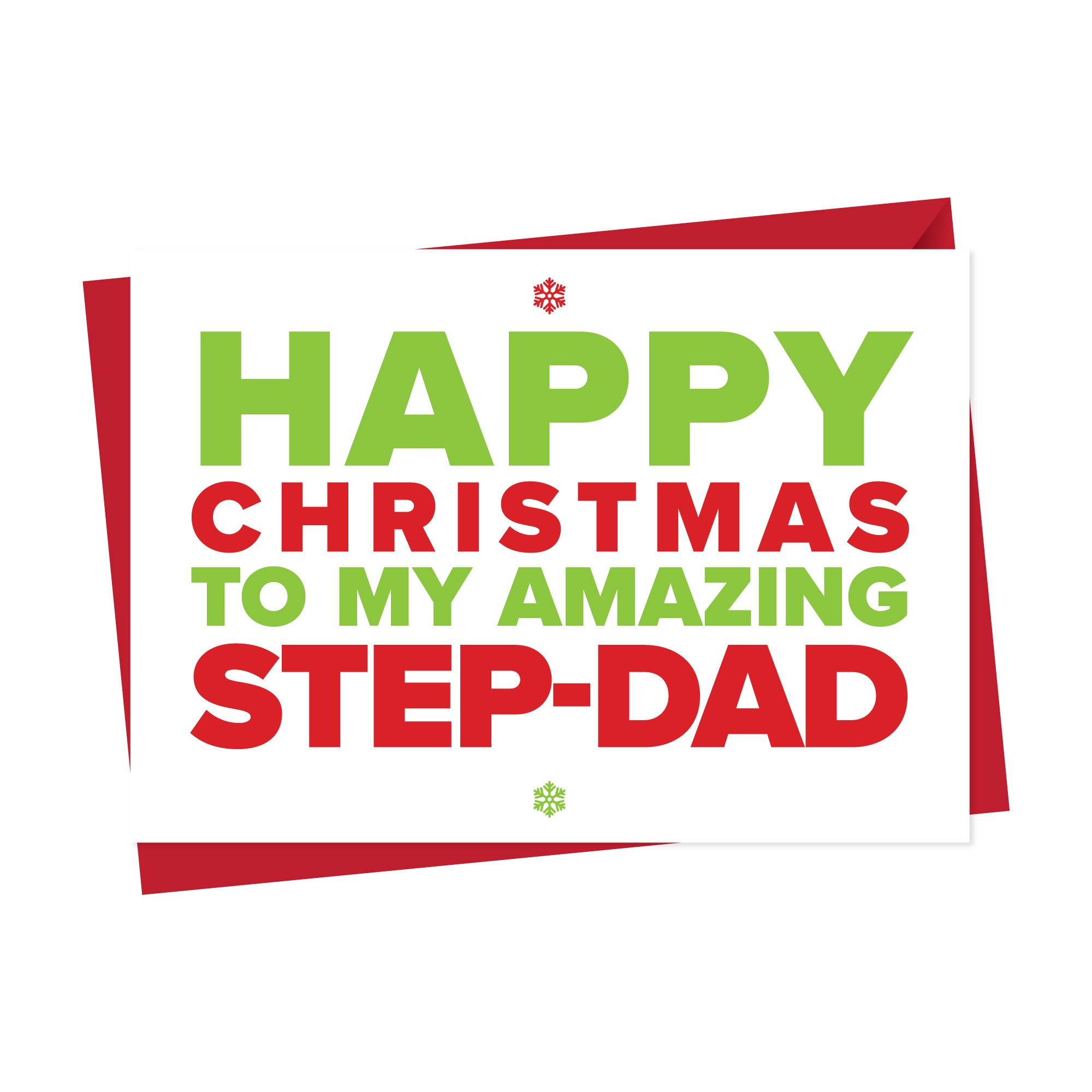 Christmas Card for An Amazing Step-Dad