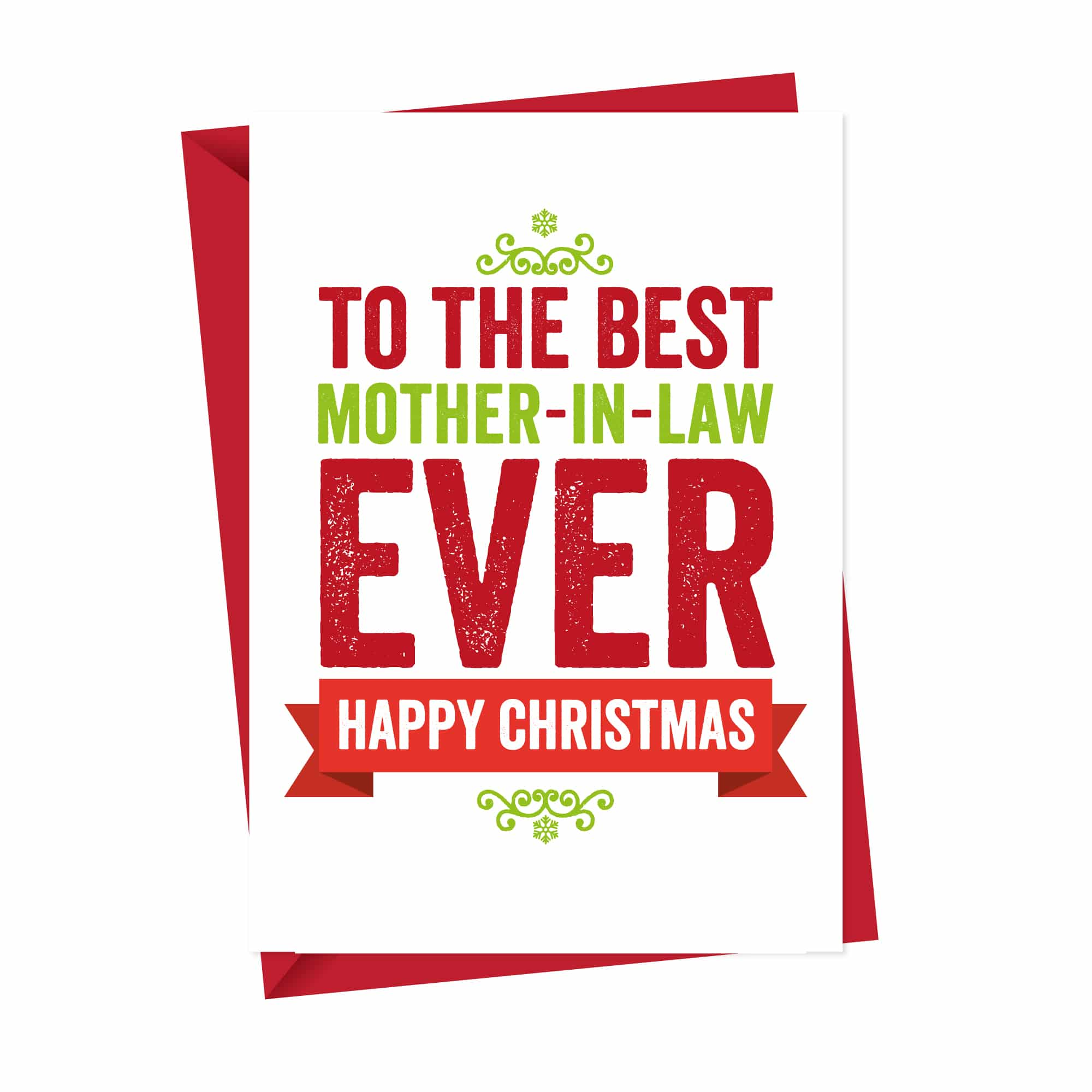 Christmas card for Mother in Law
